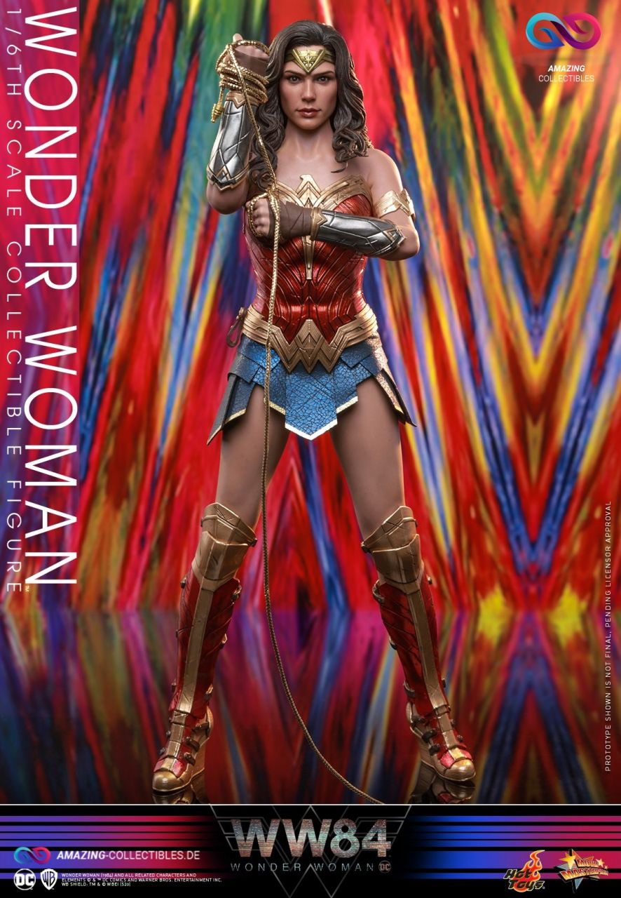 Hot Toys - Wonder Woman - Collectors Edition - Classic Armor - Wonder Woman 1984