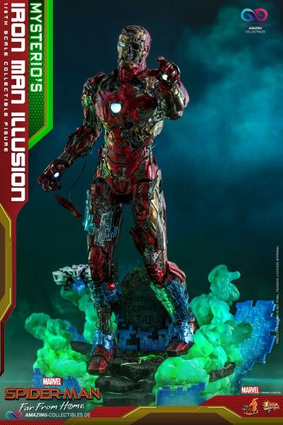 Hot Toys - Mysterios Iron Man Illusion - Spider Man: Far From Home