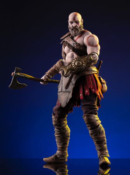 Mondo - Kratos Deluxe Figur - God of War