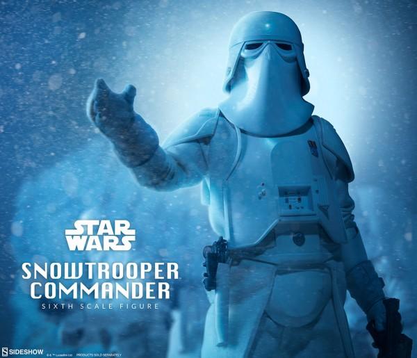 Sideshow - Snowtrooper Commander - Star Wars - Das Imperium schlägt zurück