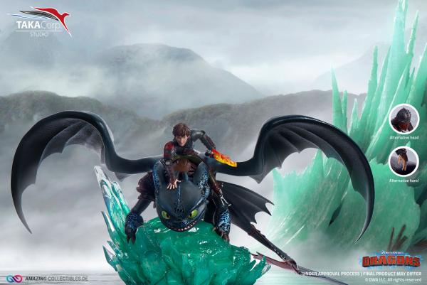 TakaCorp. - Ohnezahn und Hicks (Toothless and Hiccap) - Drachenzähmen leicht gemacht - Dragons