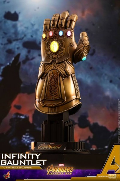 Hot Toys - Infinity Gauntlet - Thanos Handschuh - 1/4 Quarter Scale - Avengers Infinity War