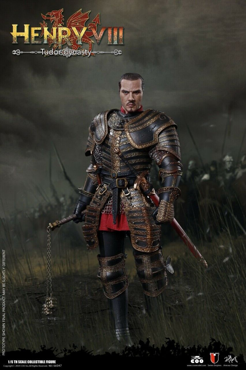 Coomodel - Henry VIII - Tudor Dynasty Version