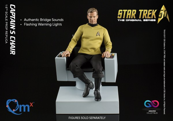 Quantum Mechanix - Captains Chair - Star Trek