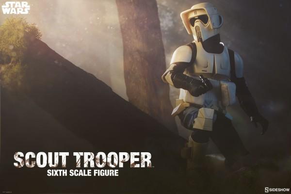Sideshow - Scout Trooper - Star Wars - Rückkehr der Jedi Ritter