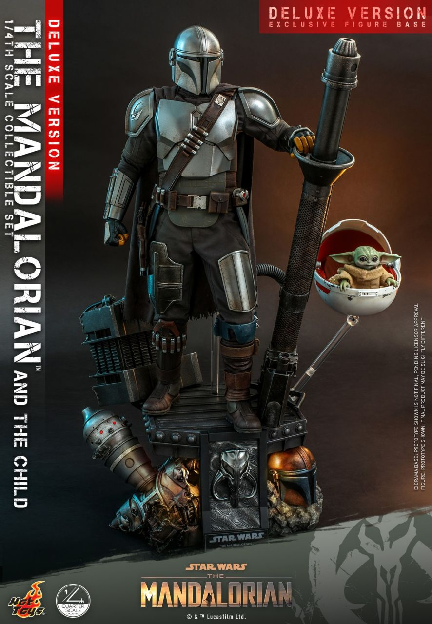 Hot Toys - The Mandalorian and the Child - Deluxe Version - Quarter Scale - Star Wars