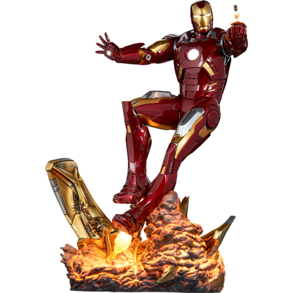 Sideshow - Iron Man Mark VII - Maquette - The Avengers