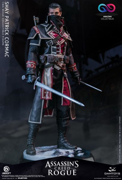 Damtoys - Shay Patrick Cormac - Assassins Creed Rogue