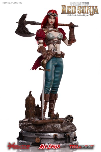 TBLeague - Red Sonja - Steam Punk Version - DX Version